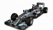 Mercedes W05, three-quarter, 2014