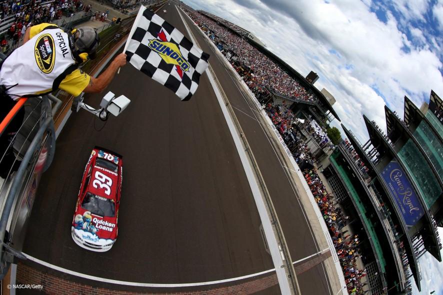 Ryan Newman, Stewart/Haas Chevrolet, NASCAR, Indianapolis, 2013