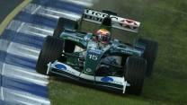 Antonio Pizzonia, Jaguar R4, Melbourne, 2003