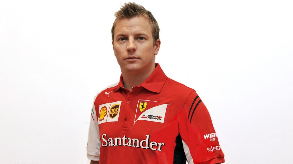 Raikkonen back at Ferrari – first picture