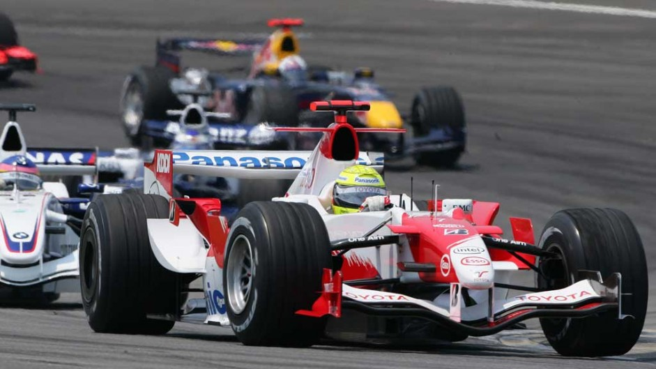 Ralf Schumacher, Toyota TF106, Indianapolis, 2006