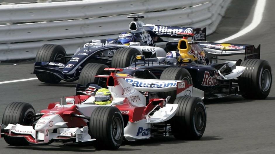 Ralf Schumacher, Toyota TF106, Silverstone, 2006