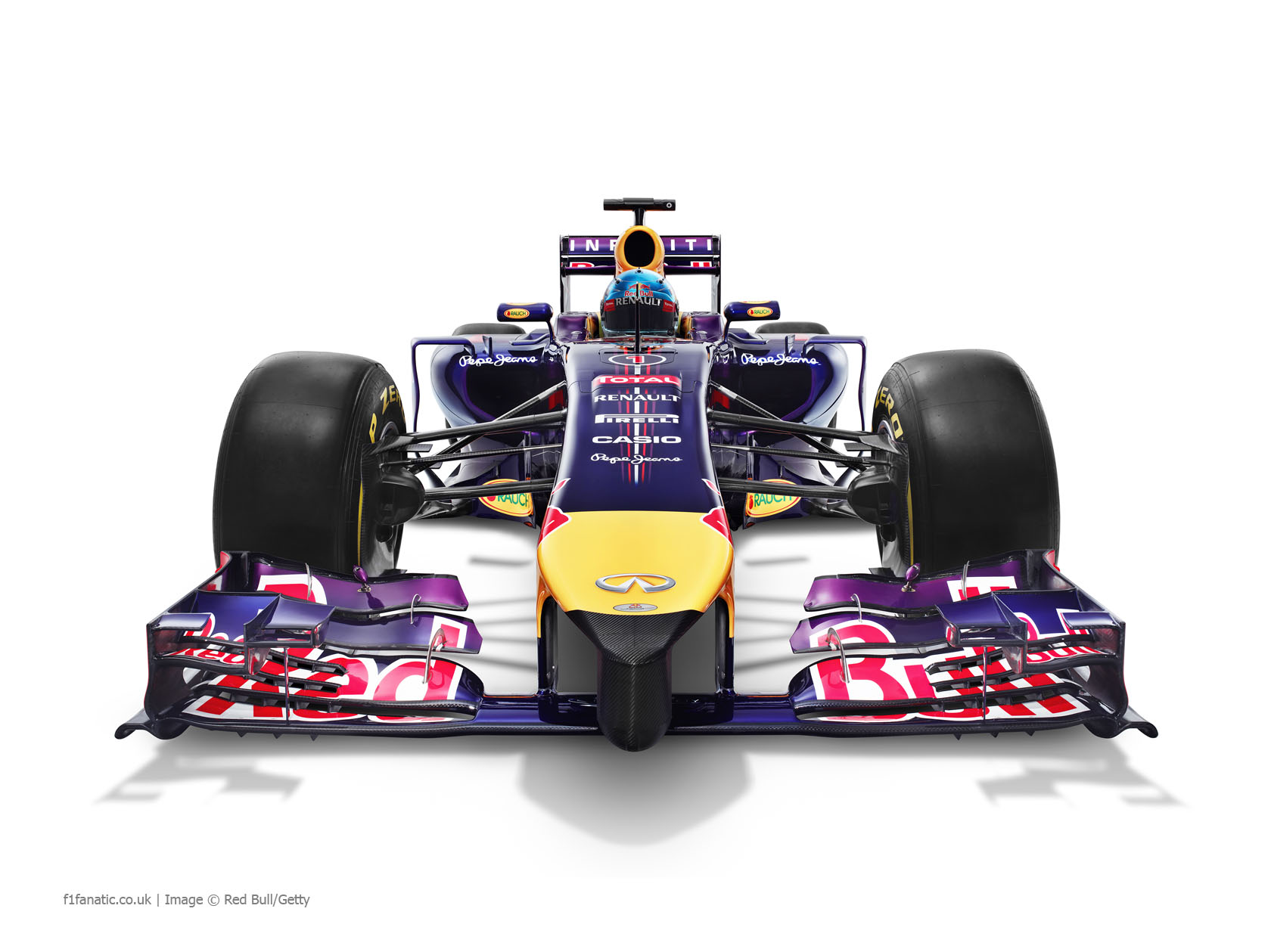 Red Bull RB10, front, 2014