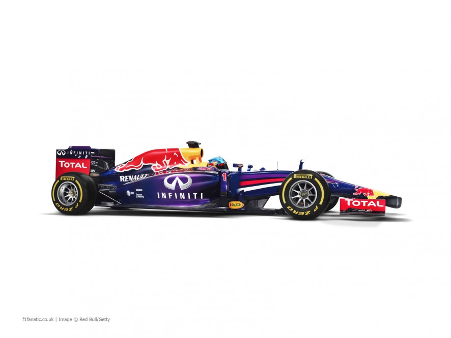 Red Bull RB10, side, 2014