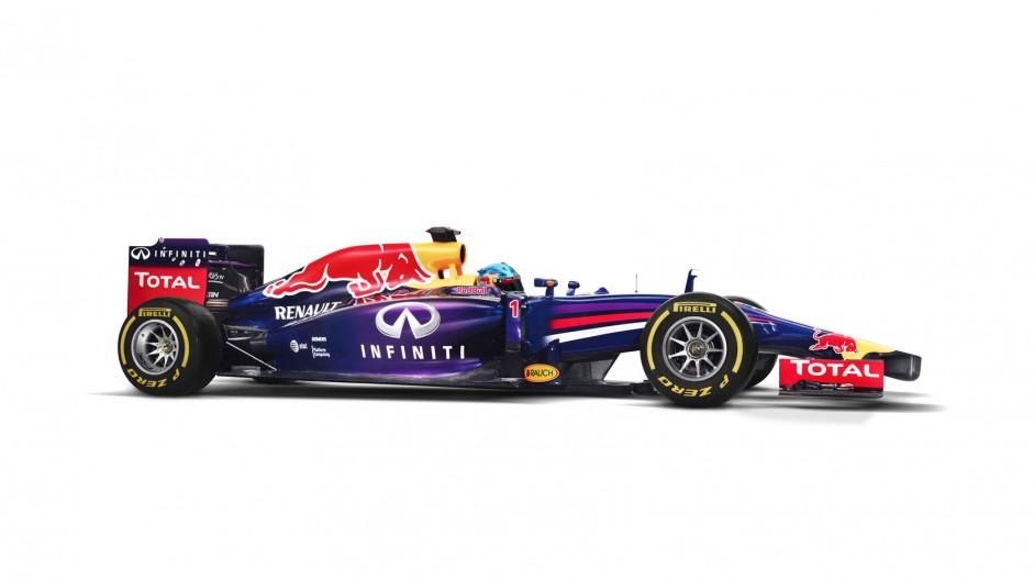 Red Bull RB10, side, 2014