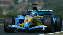 Fernando Alonso, Renault, Hungaroring, 2003