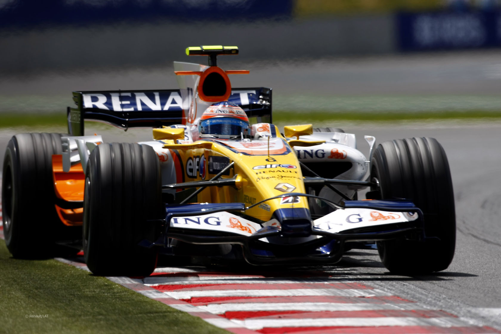 Nelson Piquet Jnr, Renault R28, Magny-Cours, 2008