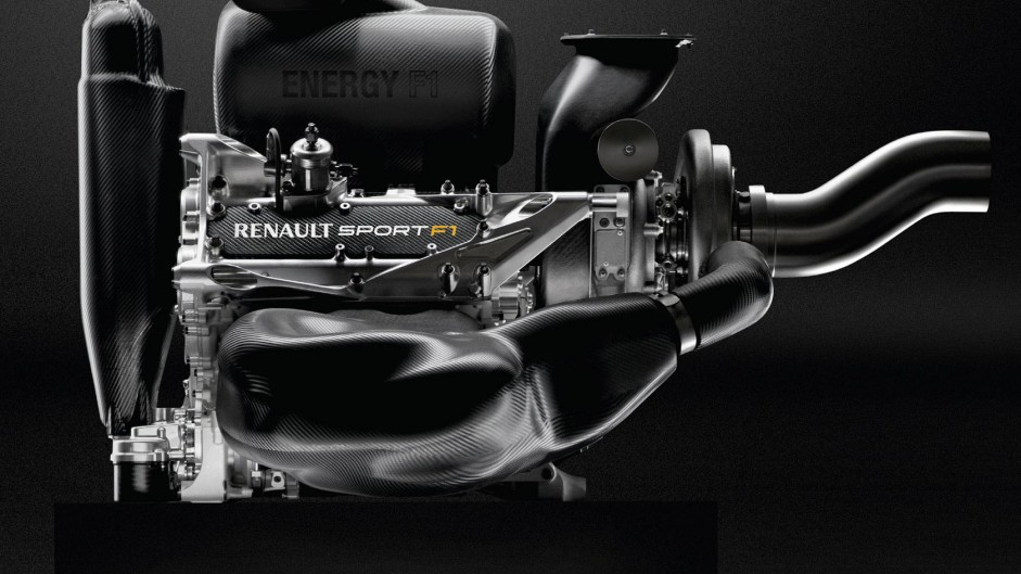 Renault Energy F1, side, 2014