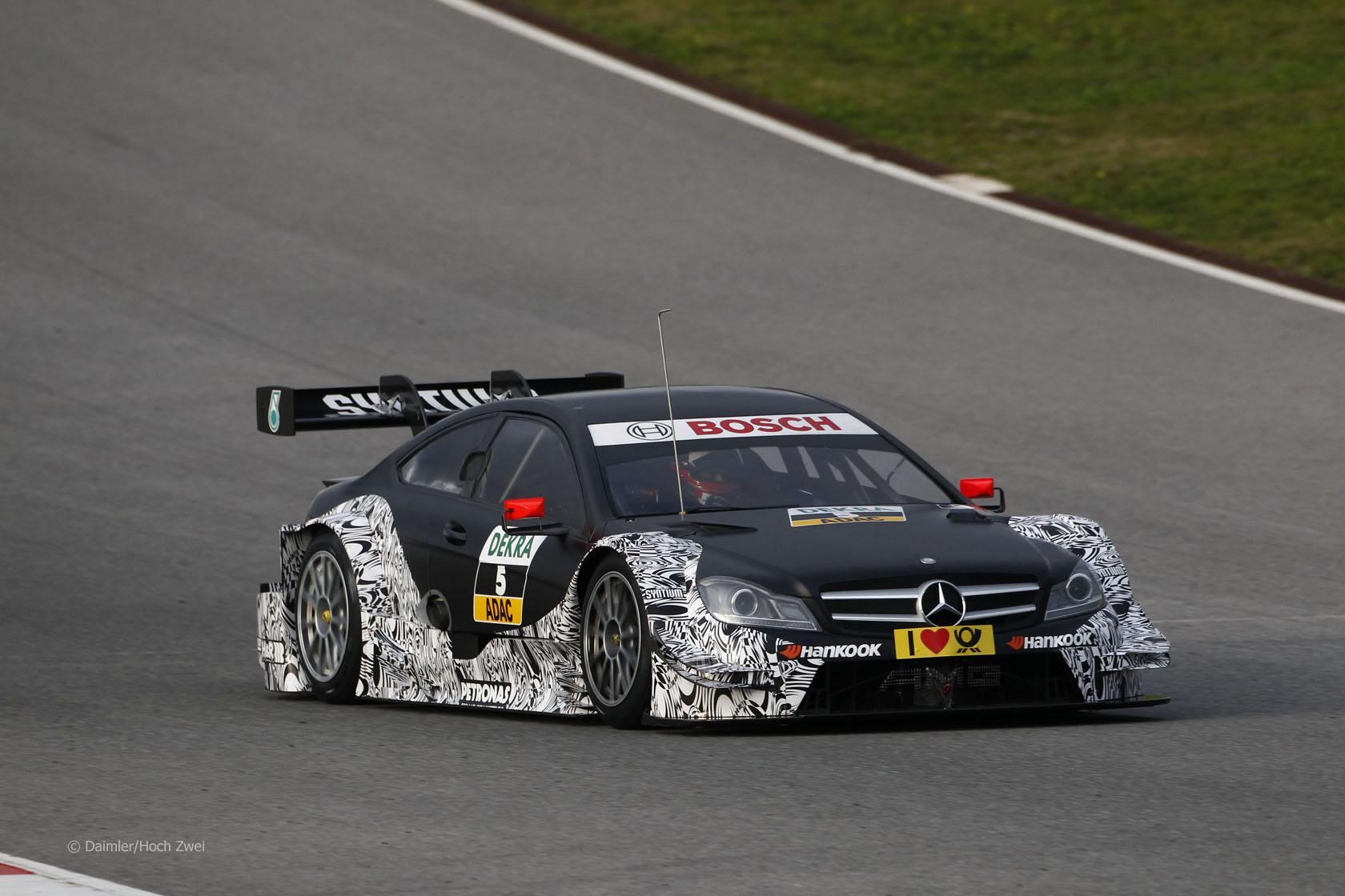 Paul di Resta, Mercedes C-Class, DTM
