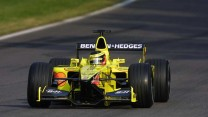 Ricardo Zonta, Jordan EJ11, Hockenheimring, 2001