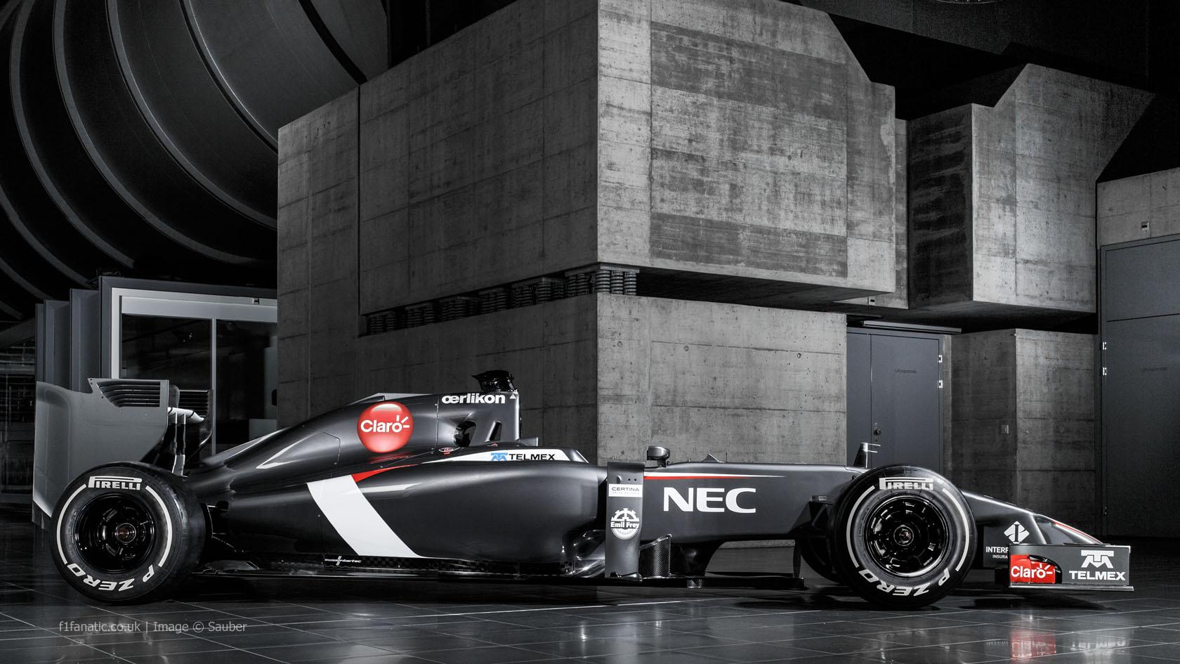 Sauber C33 side, 2014