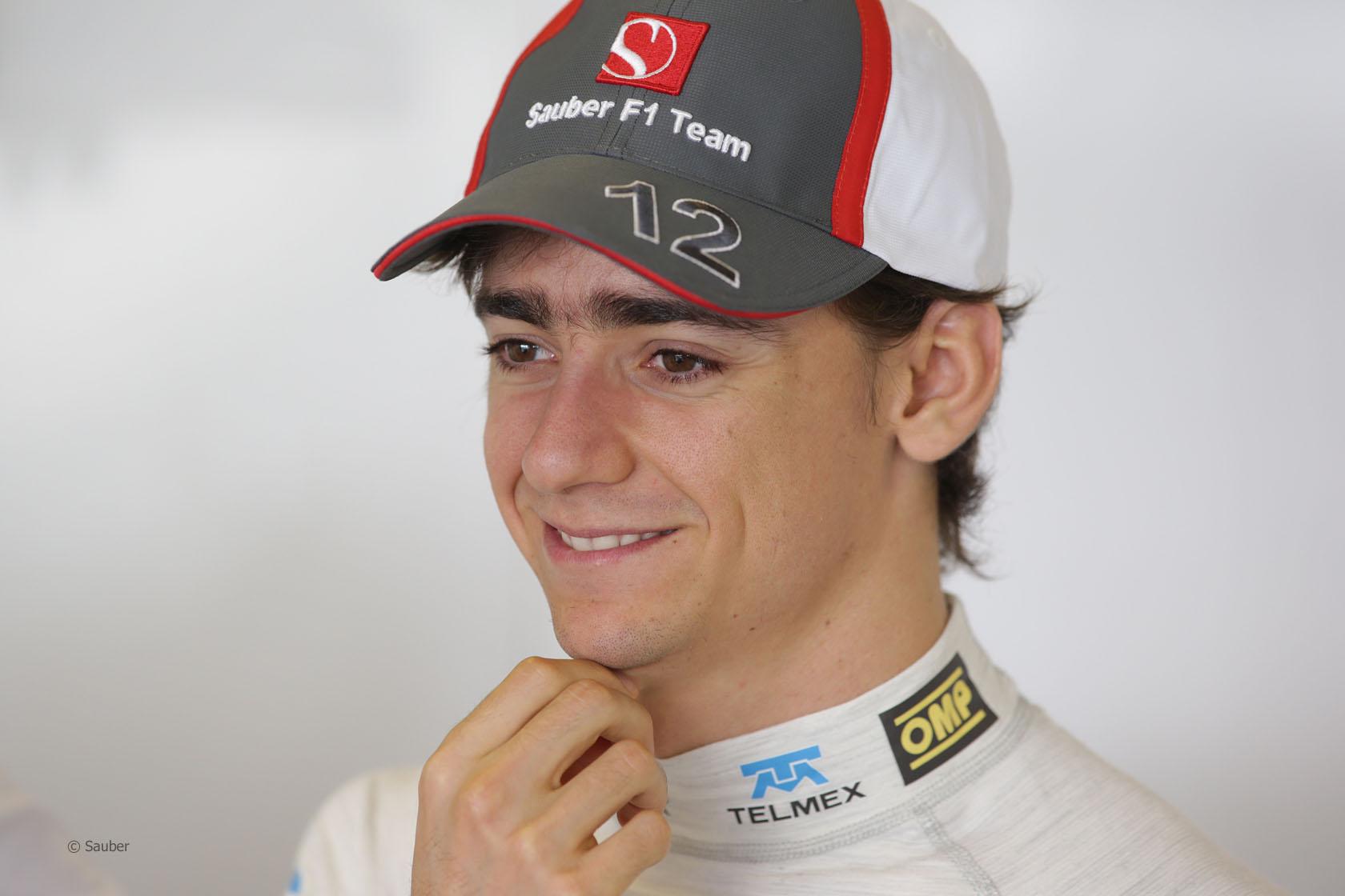 Esteban Gutierrez, Sauber, Circuit de Catalunya, 2013