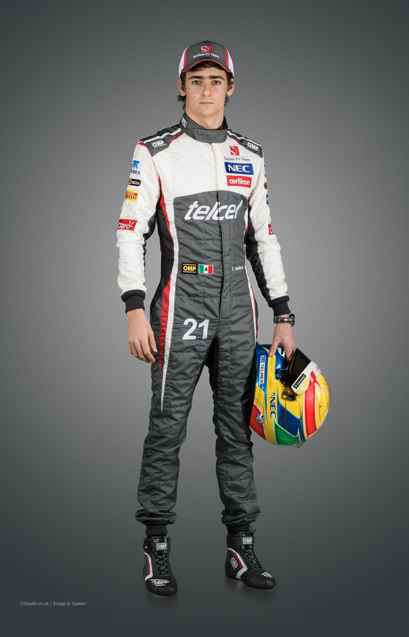 Esteban Gutierrez, Sauber, 2014