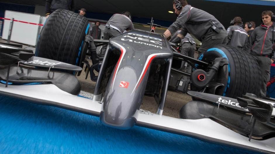 Sauber, Jerez, 2014