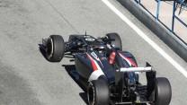 Adrian Sutil, Sauber, Jerez, 2014