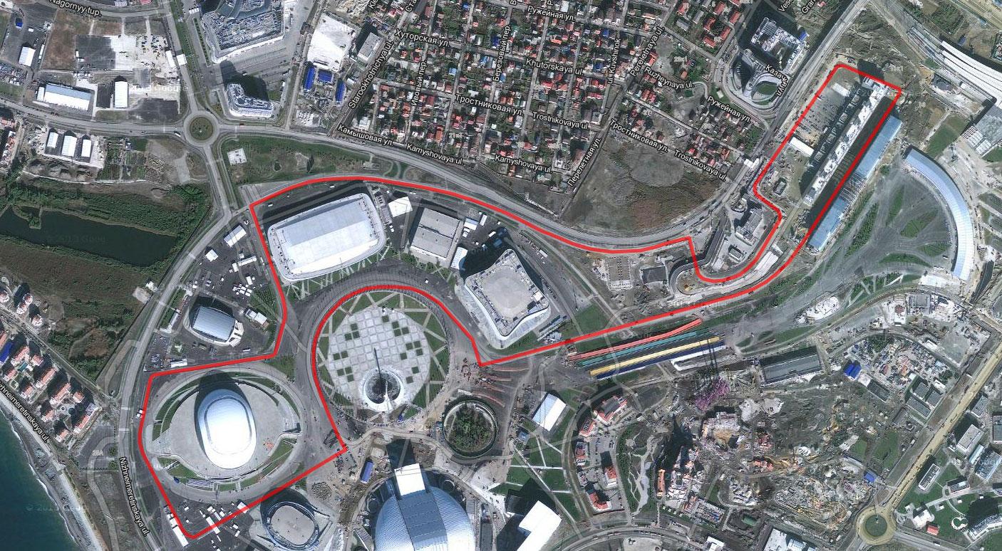 Sochi International Street Circuit, 2014