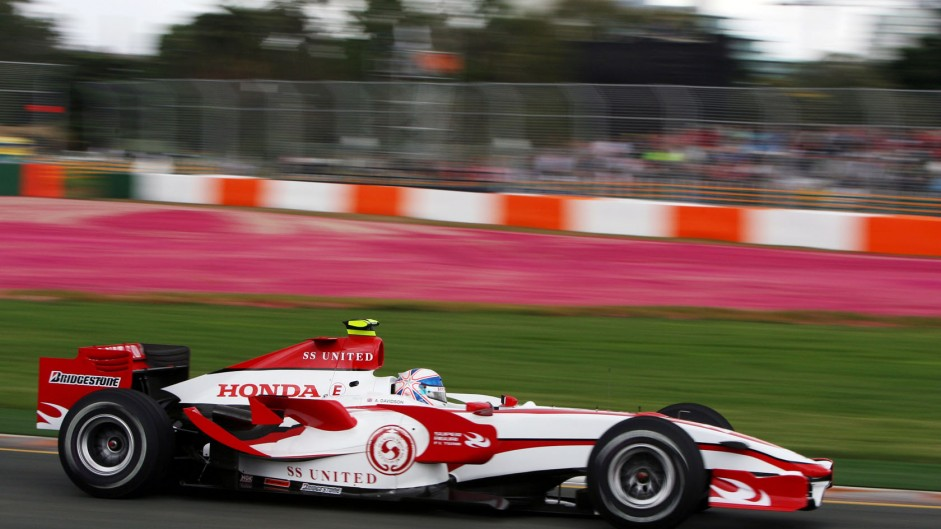 Anthony Davidson, Super Aguri SA07, Melbourne, 2007