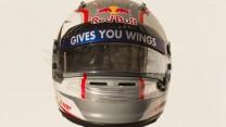 Daniil Kvyat helmet, Toro Rosso, 2014