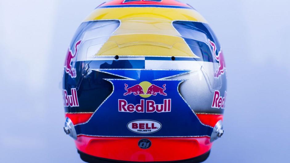 Jean-Eric Vergne helmet, Toro Rosso, 2014