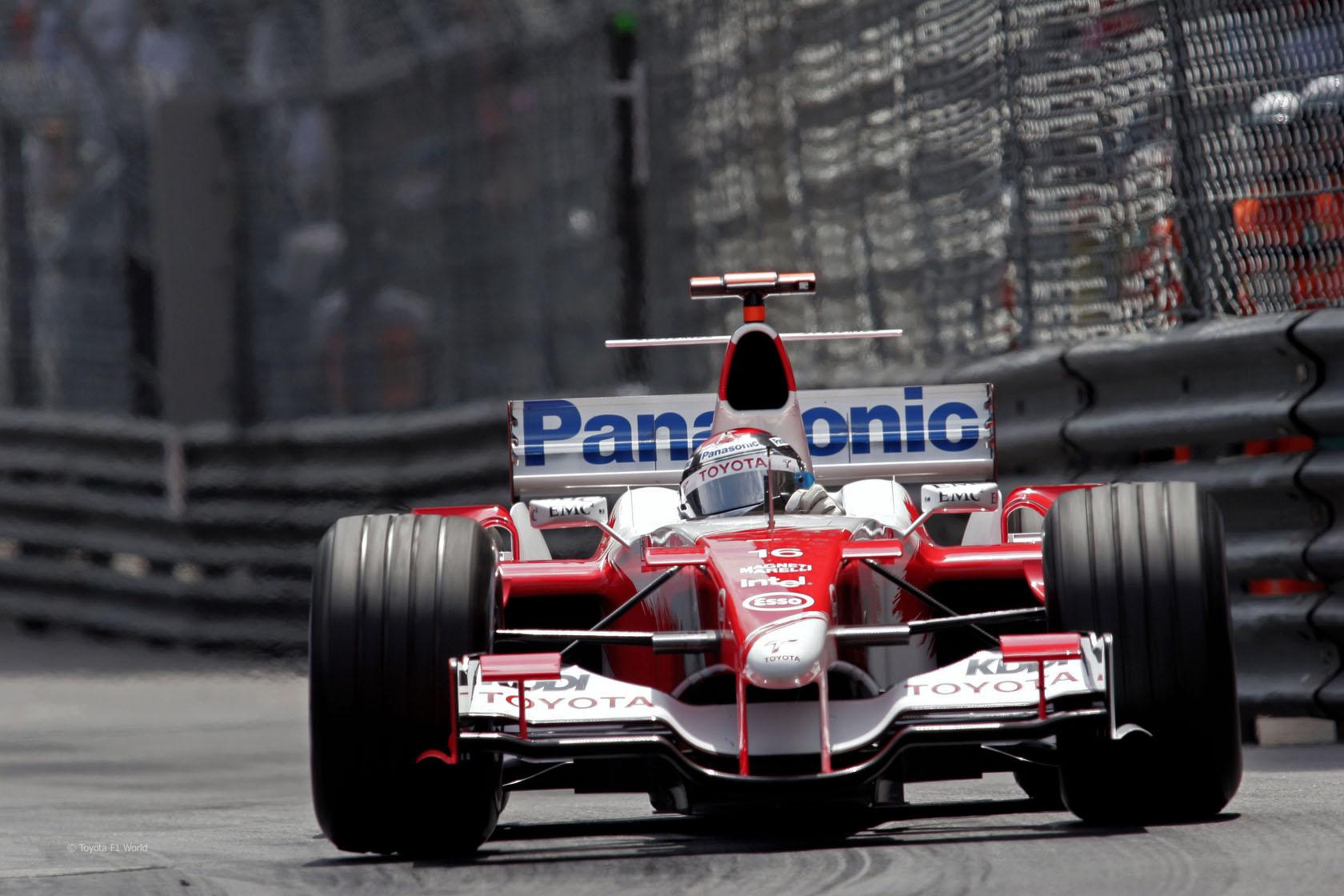 Jarno Trulli, Toyota, Monaco, 2005