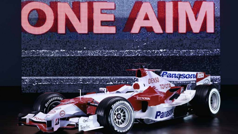 Toyota TF106 launch, 2006, 1