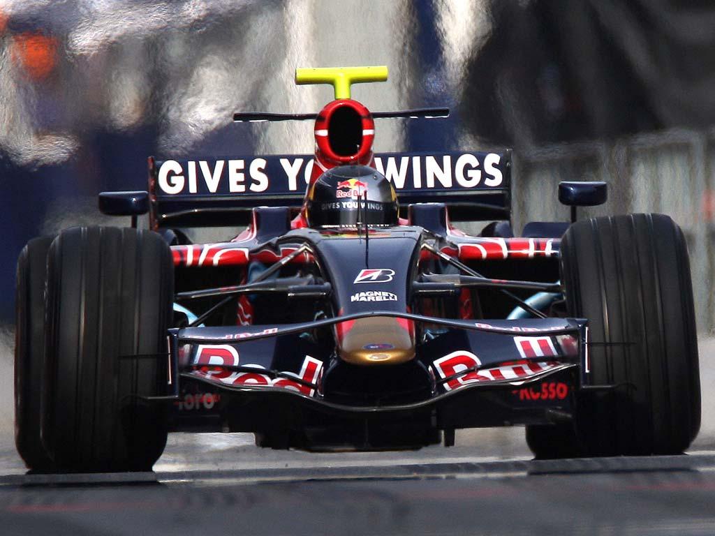 Sebastian Vettel, Toro Rosso, Circuit de Catalunya, 2008