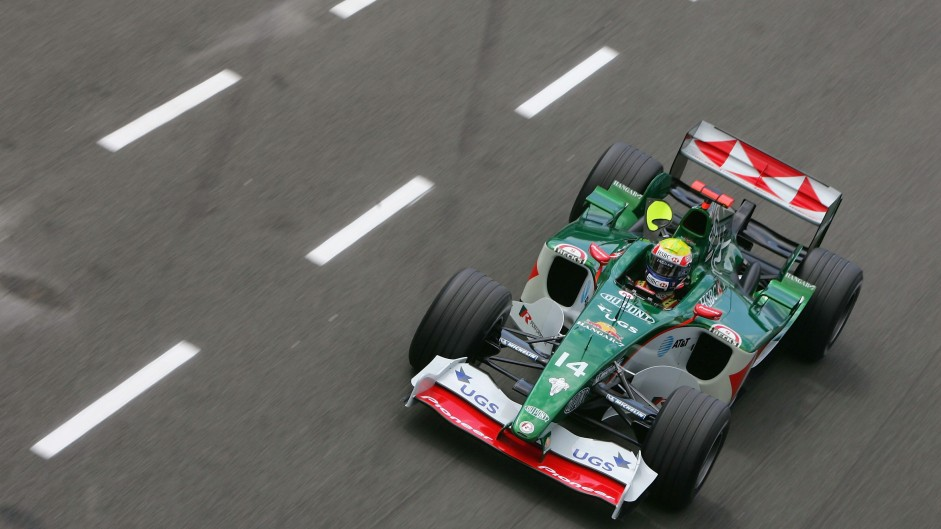 Mark Webber, Jaguar R5, Monaco, 2004