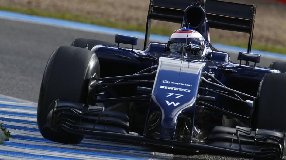 Valtteri Bottas, Williams, Jerez, 2014