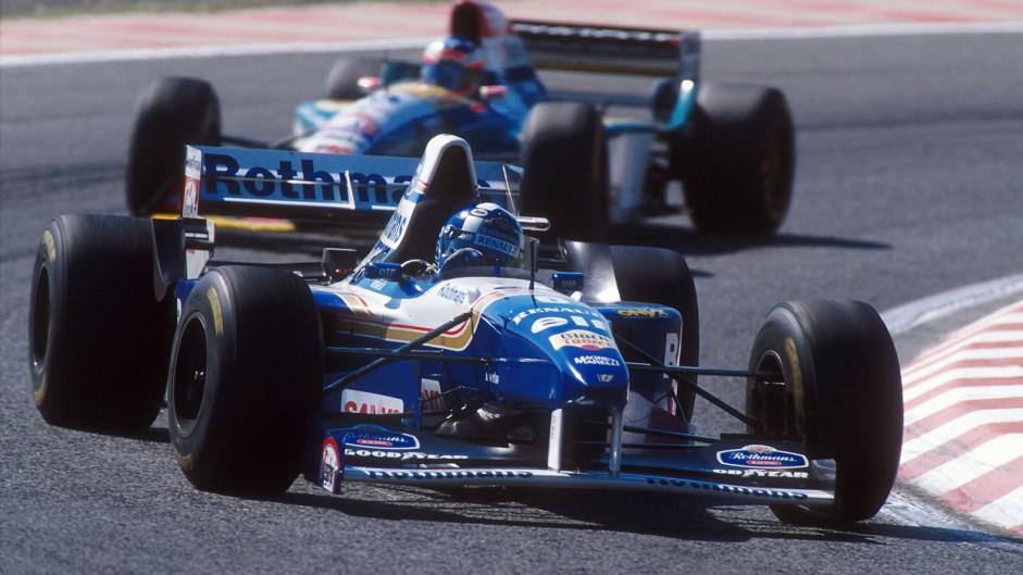 David Coulthard, Williams FW17, TI Aida, 1995