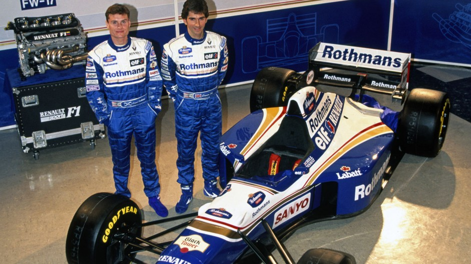 David Coulthard, Damon Hill, Williams FW17, 1995