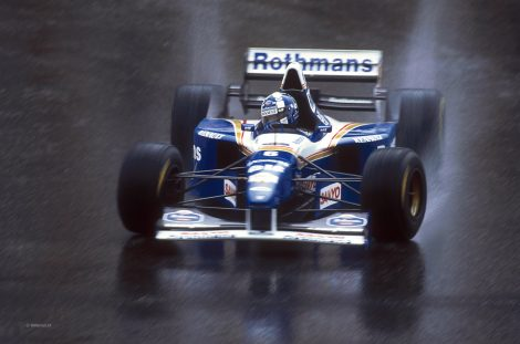 David Coulthard, Williams FW17, Spa-Francorchamps, 1995