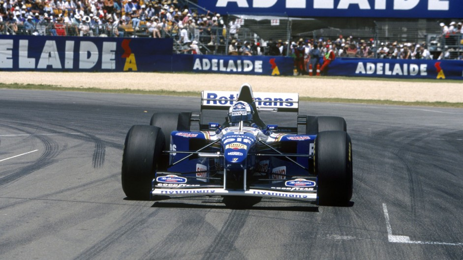 Damon Hill, Williams FW17, Adelaide, 1995