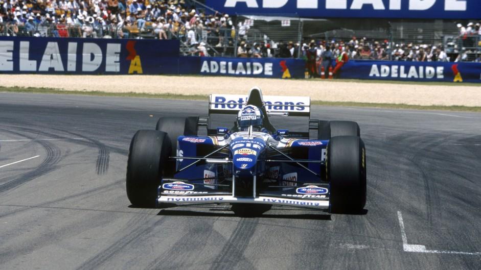 Damon Hill, Williams FW17, Adelaide, 1995