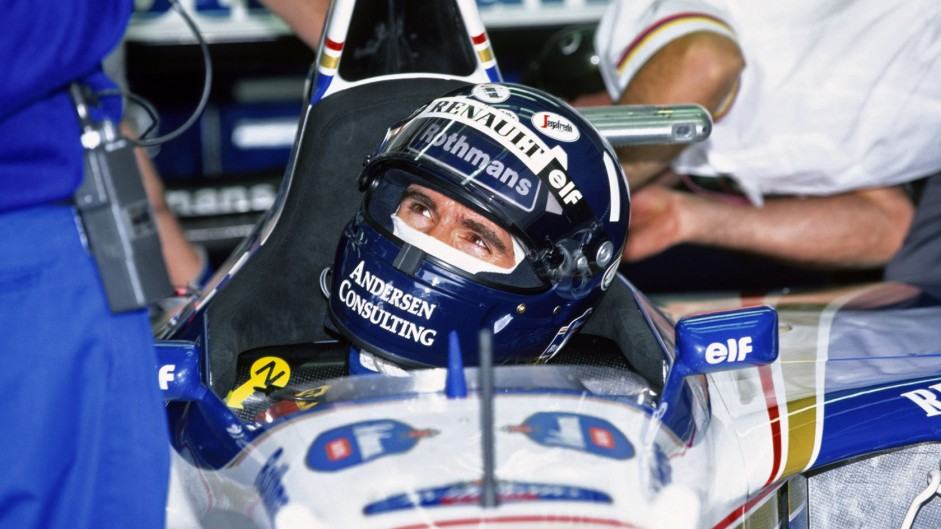 Damon Hill, Williams FW17, Imola, 1995