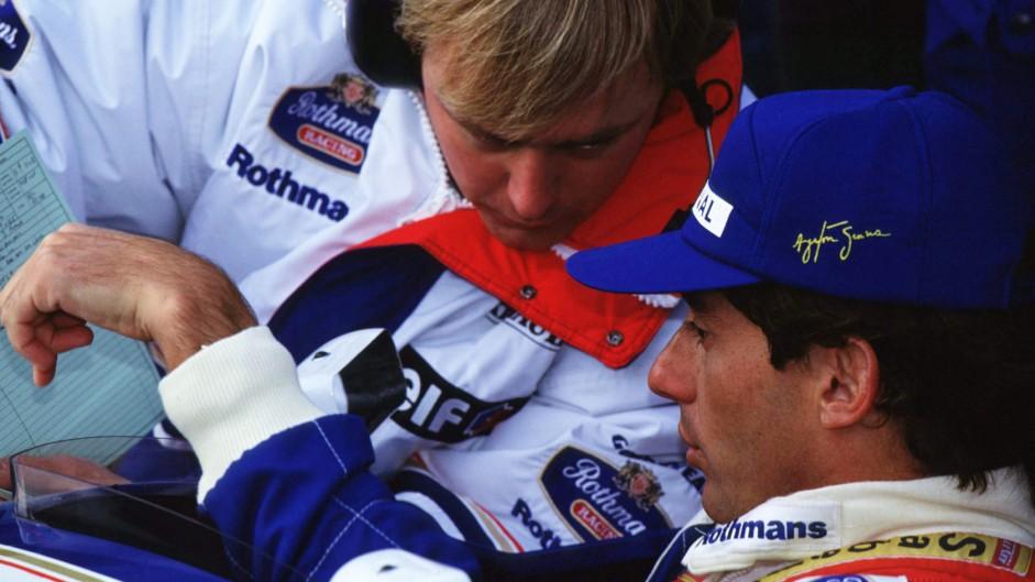 Ayrton Senna, Williams, 1994