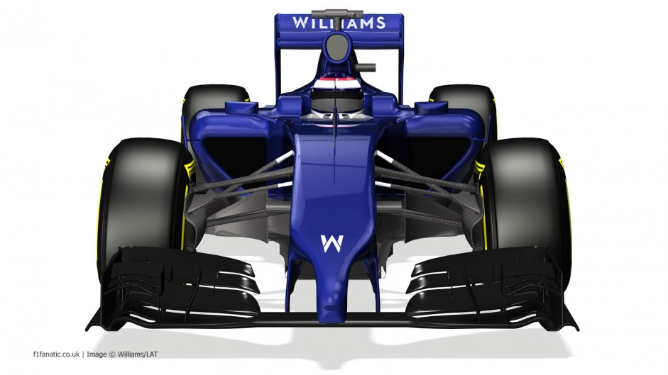 Williams FW36, front, 2014