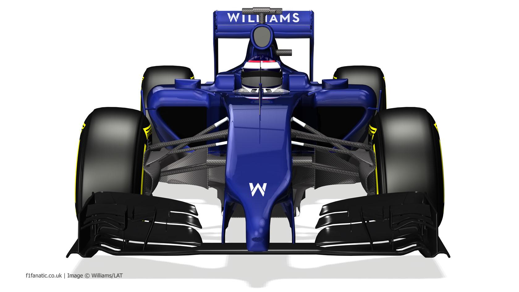Williams FW36, front, 2014