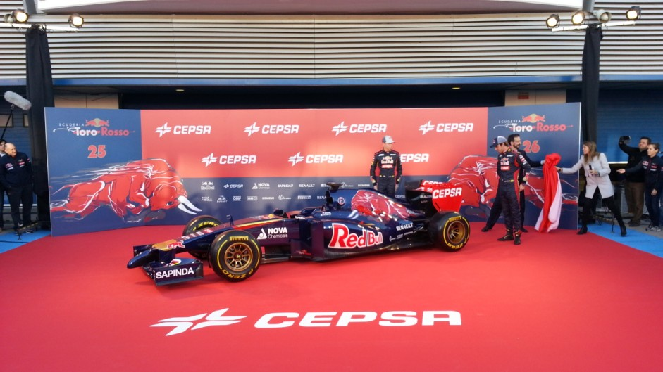 Toro Rosso STR9: First pictures