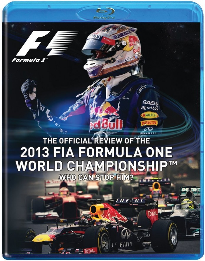 2013 F1 Blu-Ray Who Can Stop Him?