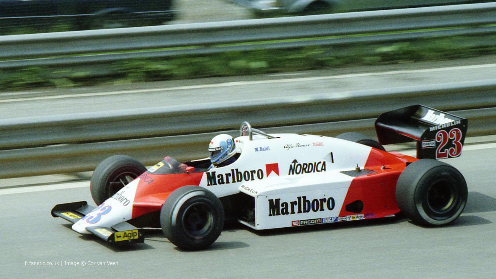 Mauro Baldi Alfa Romeo Spa Francorchamps 1983 Racefans