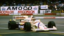 Thierry Boutsen, Arrows, Silverstone, 1985