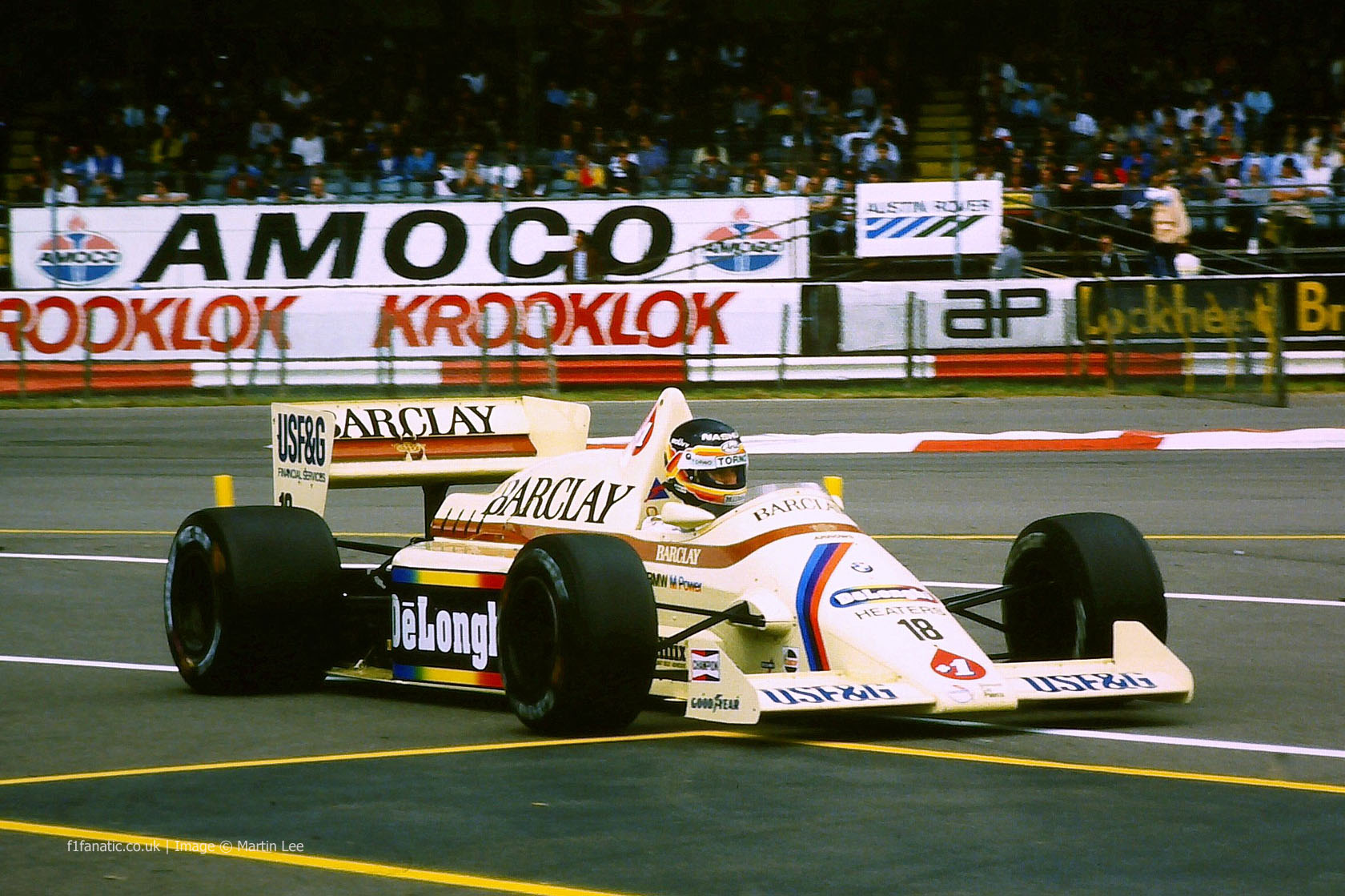 Thierry Boutsen Arrows Silverstone 1985 183 F1 Fanatic