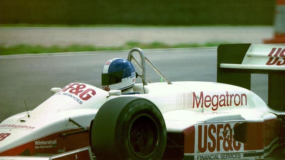 Derek Warwick, Arrows, Silverstone, 1987