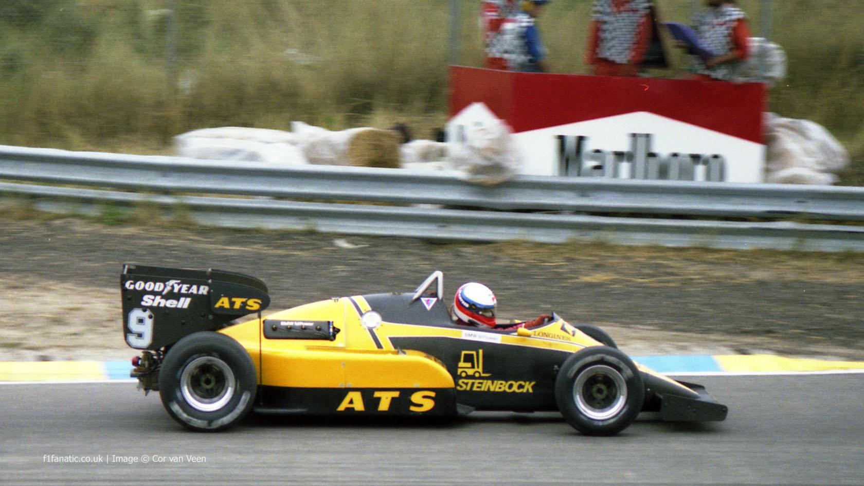 Manfred Winkelhock Ats Zandvoort 1983 183 F1 Fanatic