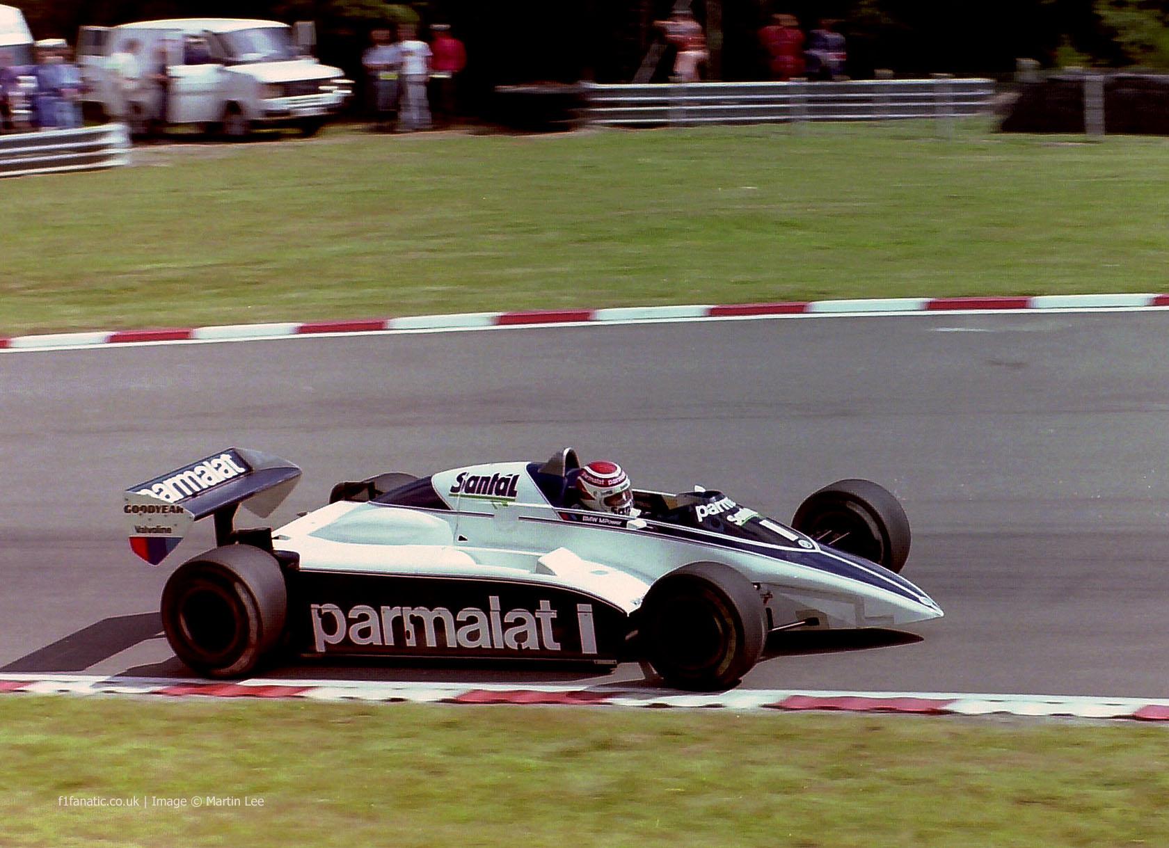 Nelson Piquet, Brabham, Brands Hatch, 1982