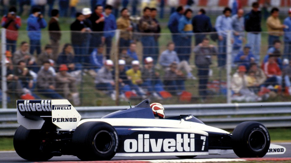 Nelson Piquet, Brabham, Brands Hatch, 1985