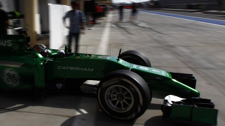 Kamui Kobayashi, Caterham, Bahrain, 2014