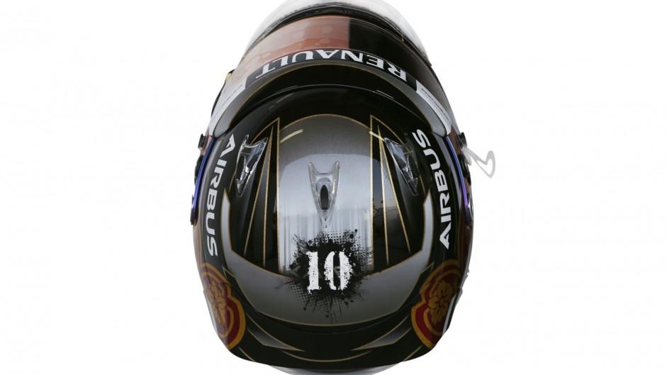 Kamui Kobayashi helmet, Caterham, 2014