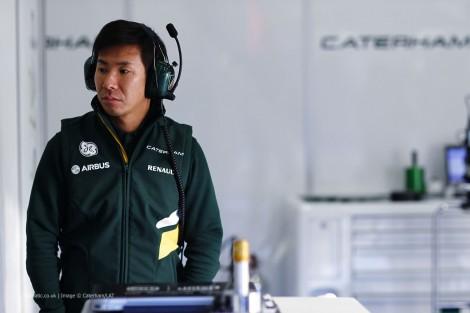 Kamui Kobayashi, Caterham, Jerez, 2014