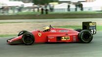 Michele Alboreto, Ferrari, Silverstone, 1987